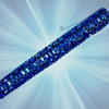 Sherman Jewellery, Sherman Bracelet, Cobalt Blue Enhanced by Aurora Borealis Stones