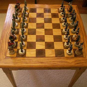 Custom Chess Table