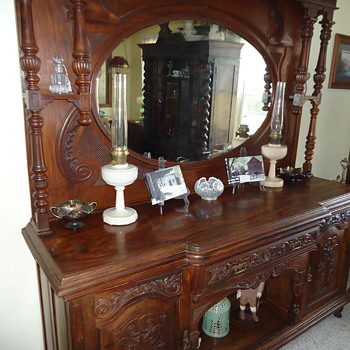 Antique Sideboard - Furniture