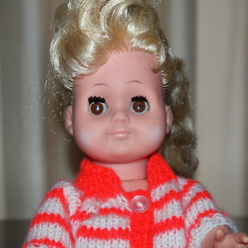 Not So Old Doll, Made in GDR (East Germany) Late 1960's to Early 1970's - Dolls