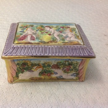limited edition trinket box angles italy