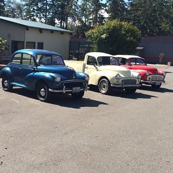 Morris Minor cars in the Pacific Northwest - Classic Cars