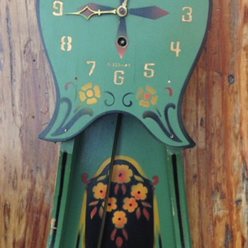 Milo's Beautiful antique clock