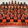 Colorful Peruvian Chess Set
