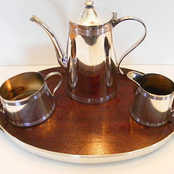Tea Service - Queen City Silver Company