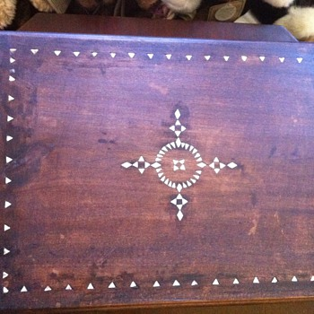 hand made wood cigar box