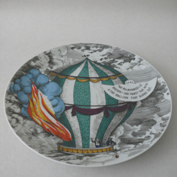 a fornasetti plate by rosenthal - Art Pottery