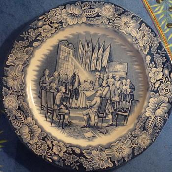 "Enoch Wedgwood plate 11"""
