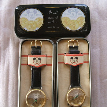 1993 65th Birthday Mickey and Minnie Editions - Wristwatches
