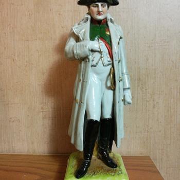 SCHEIBE-ALSBACH Napoleon figurine
