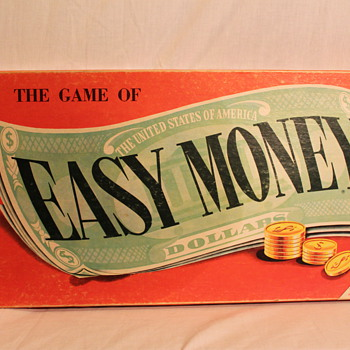 "Vintage ""Easy Money"" Board Game ~ 1964"