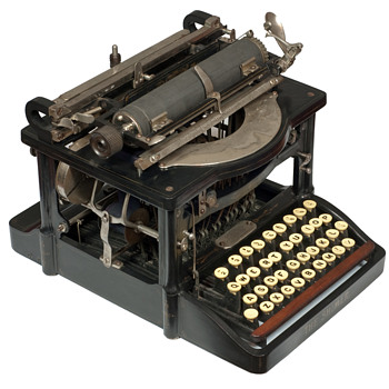 The Shimer typewriter - 1898 - Office