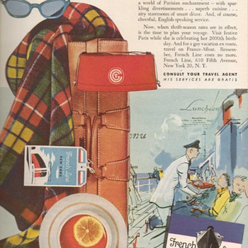 1951 - French Line Advertisement