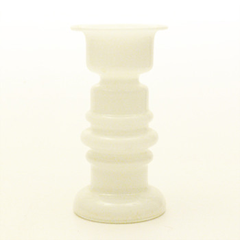 White vase, probably from WMF (ca. 1970) - Art Glass