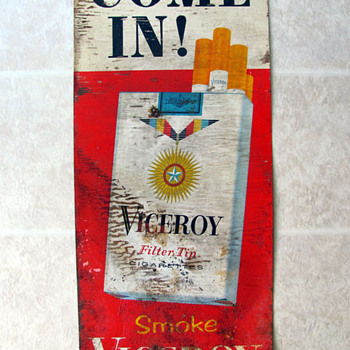 Viceroy Cigarette Sign - Signs