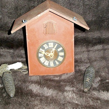 A Vintage German Cuckoo Clock