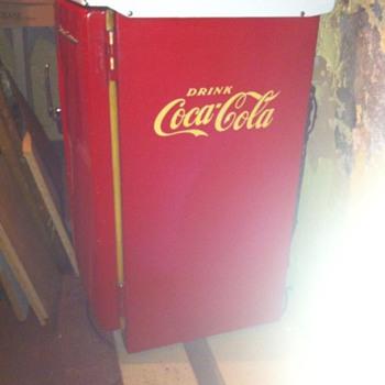 coca cola fridgeair circa 1960's