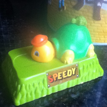 Speedy the Turtle Bank - Coin Operated