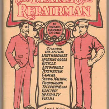 1962 - Motorcycle Issue - The Dealer & Repairman - Paper