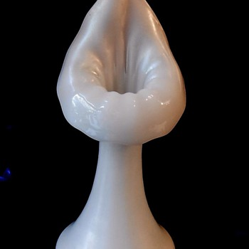Steuben Ivrene Jack in the Pulpit Vase (shape 7560).