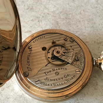 Watch is over 102 years old - Pocket Watches
