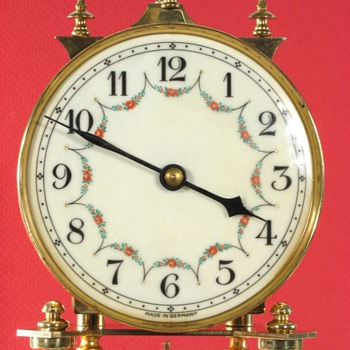 Schatz Standard 400 Day Clock, No Name on Dial, ca. 1950
