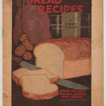 1918 - Bread Recipes Booklet - Books