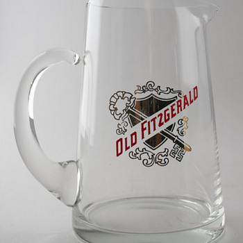 Old Fitzgerald Whiskey Pitcher