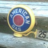 American Gas Pump Globe