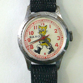 "Saro ""Puss In Boots"" Wrist Watch - Wristwatches"