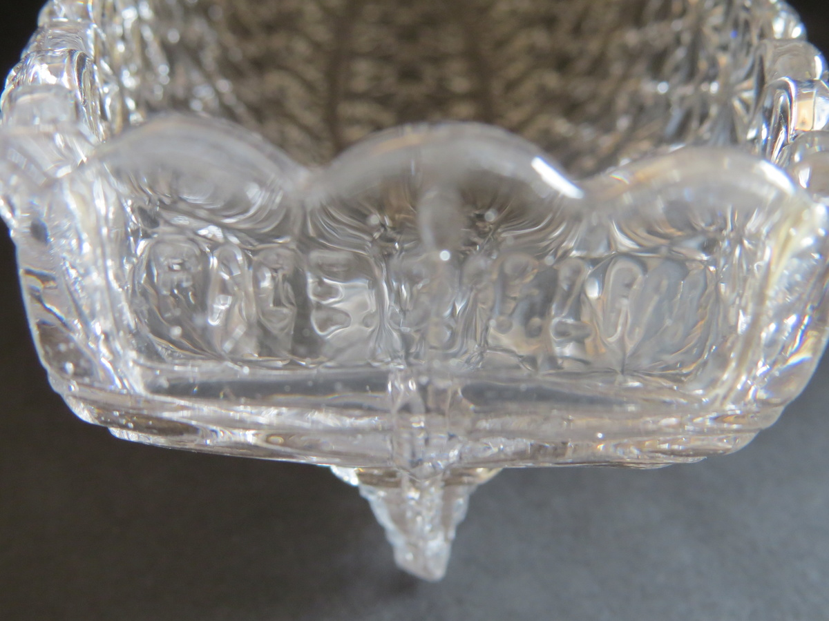 Pressed Glass Boat Shaped Celery Dish (Grace Darling ...