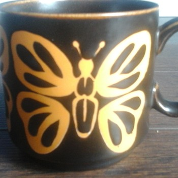 Royal Alma Butterfly Mug - China and Dinnerware