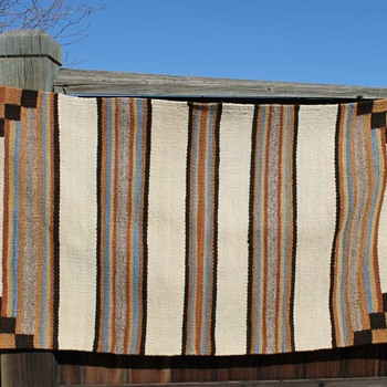 Vintage ?Navajo Wool possible saddle blanket - Native American