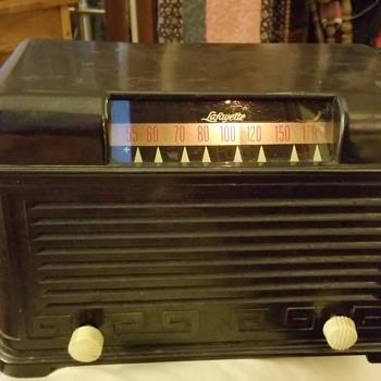 1950 (?) Lafayette Tube Radio  - Radios