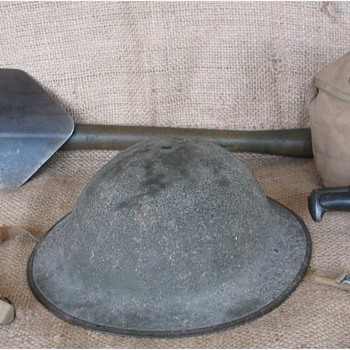 USA M1917A1 Steel Helmet - Military and Wartime