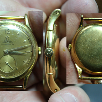 18K Omega Automatic Chronometre