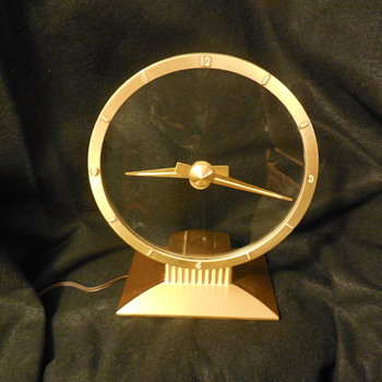 Jefferson Golden Hour Electric Clock  - Clocks