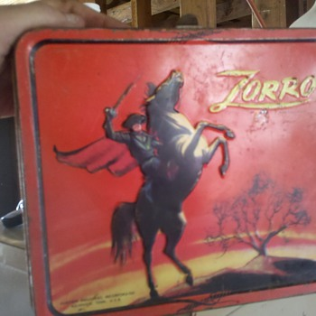 Zorro Metal Luch box