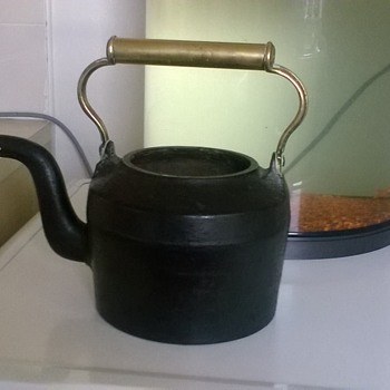 cast iron kettle  - Kitchen