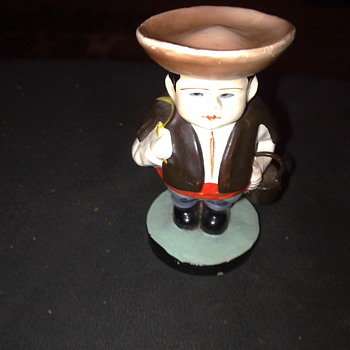 MINATURE FIGURINE OF A MAN ( ANOTHER MYSTERY TO SOLVE )
