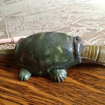 Grandpa's Bite Me Turtle Toy