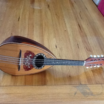 Jerome Thibouville Lamy & Co Phebe Mandolin - Musical Instruments