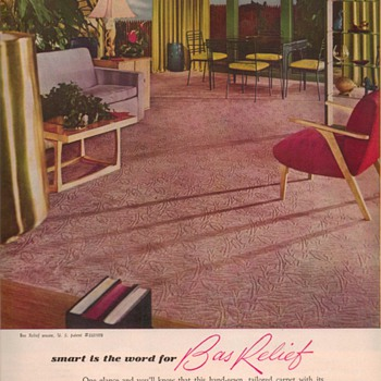 1950 Whittall Rugs Advertisements