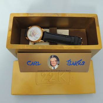 CARL BARKS LIMITED WATCH