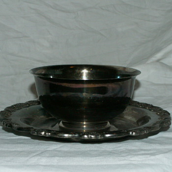 Vintage Oneida U.S.A. Silver Plate Small Compote Serving Dish