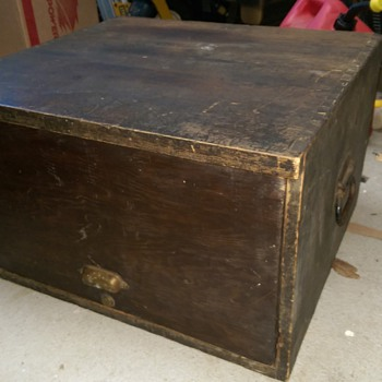 Vintage Federal Equipment Co. Cash Drawer Box - Office