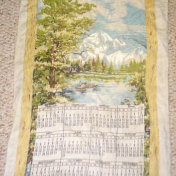 1974 calendar tapestry