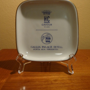 HC CAVOUR MILANO -GALLIA PALACE HOTEL PUNTA ALA (GROSSETO) - Advertising