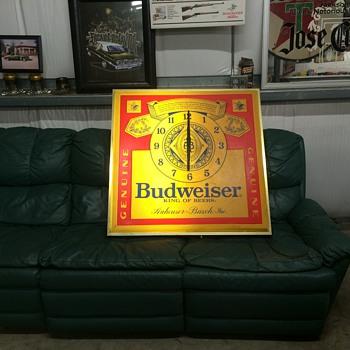 Budweiser clock