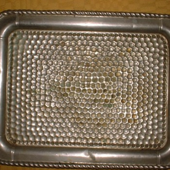 Need ID of Hand Dimpled Serving Tray ? - Kitchen